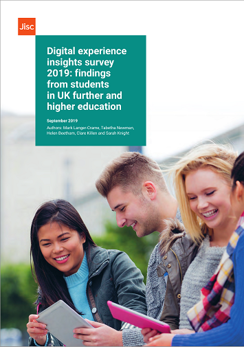 Digital insight survey cover page