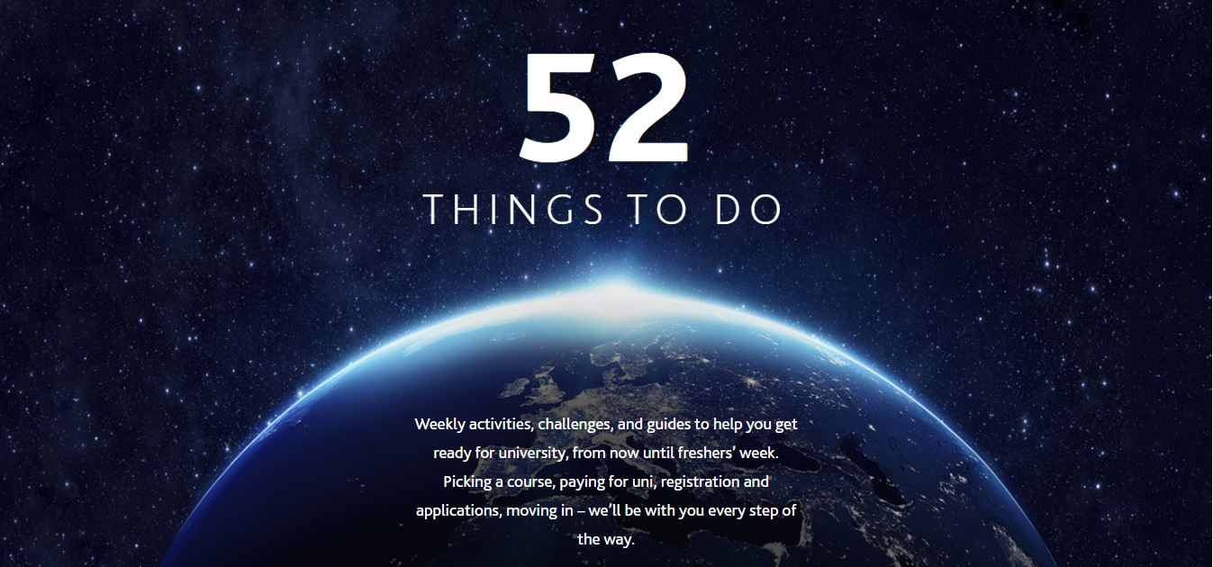 52 things to do