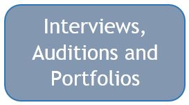Interviews auditions and portfolios