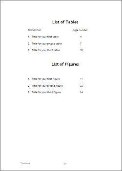 archived material dissertations tables and figures list
