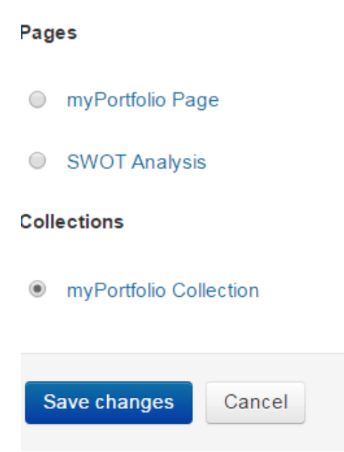 Upload pages or collection